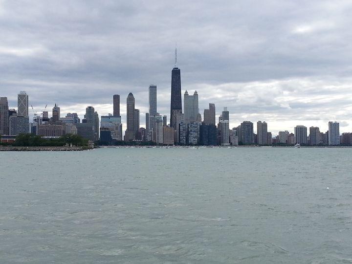 Dowtown Chicago - J. Chelette