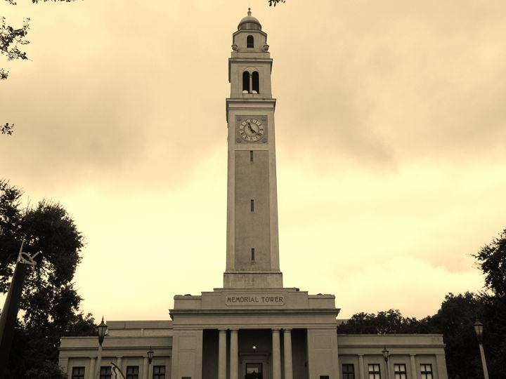 Memorial Tower LSU - J. Chelette