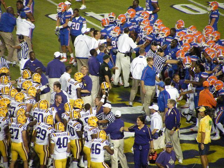 LSU Vs. Florida 2010 Pregame - J. Chelette