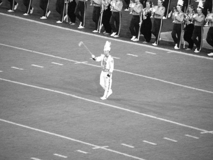 LSU Drum major - J. Chelette