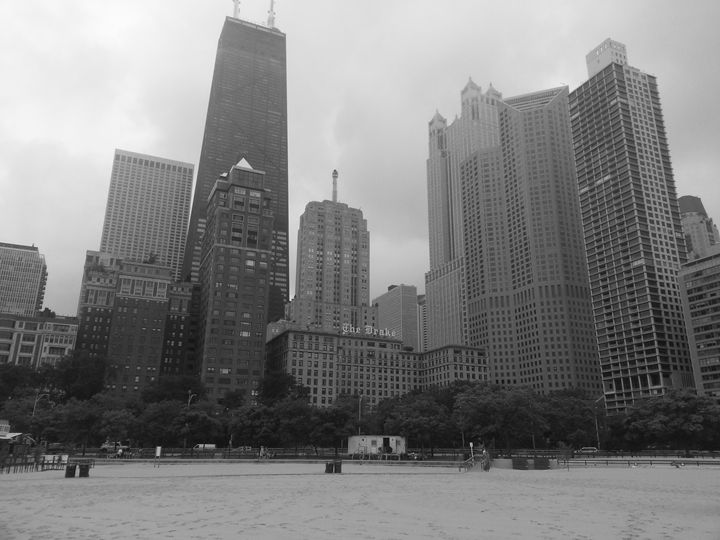 Chicago from Oak Street Beach - J. Chelette