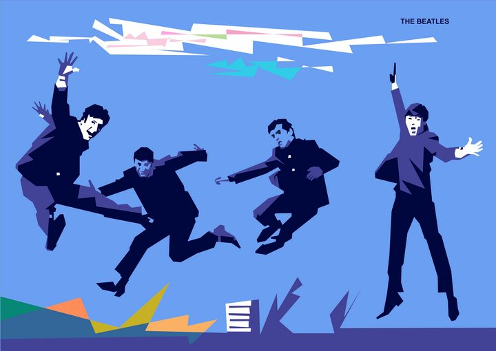 The Beatles - wpap colies