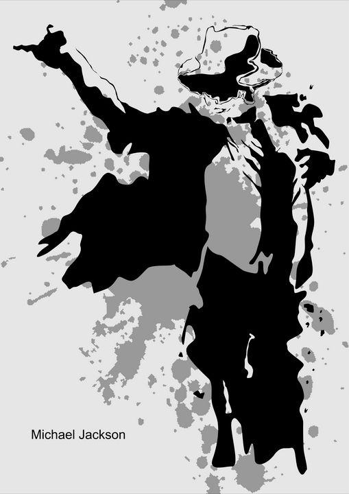 Michael Jackson Silhouette - wpap colies