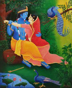 Krishna Radha Art1