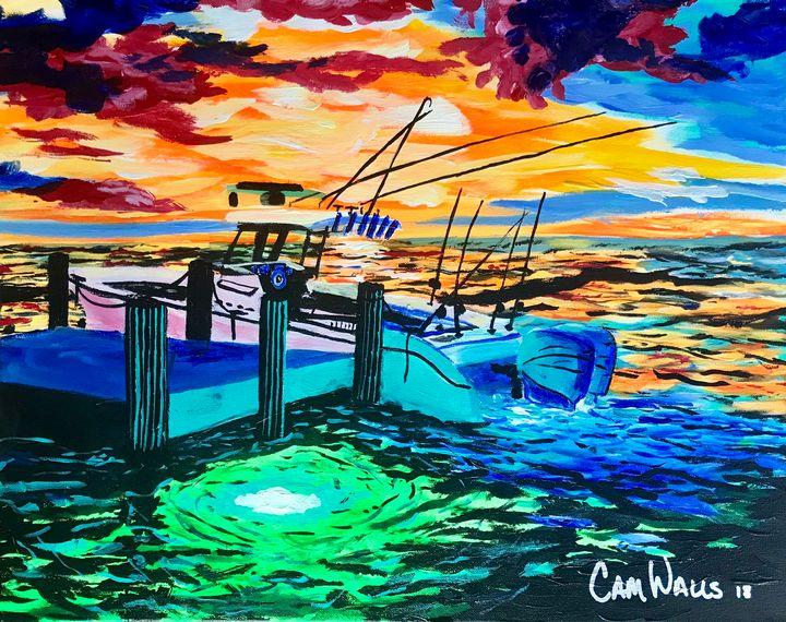 Underwater Lights - CamWallsArt