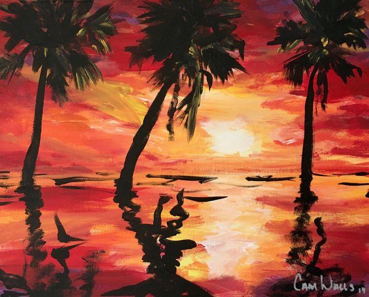 Another Sunset - CamWallsArt