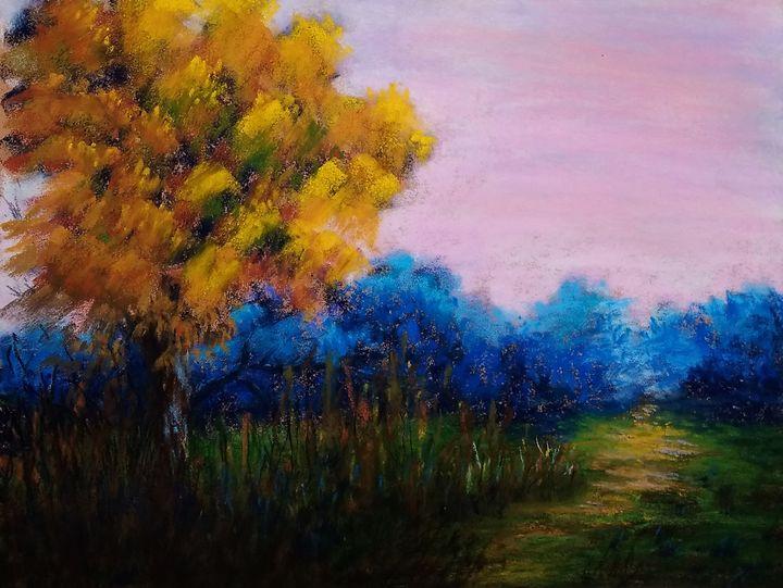 Glowing fall tree - Anjali Dixit Sharma