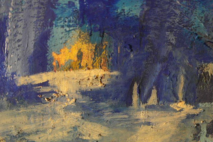COF, Acrylic on canvas - COF