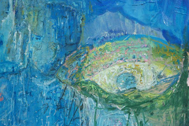 Charlie Fowles, Acrylic on canvas - COF