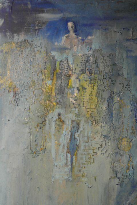 COF, Oil on canvas, 2019 - COF