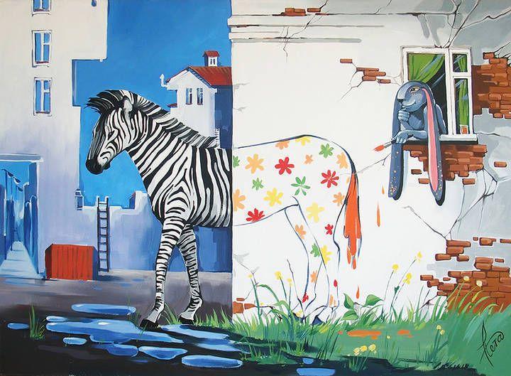 Zebra - Natvorilka