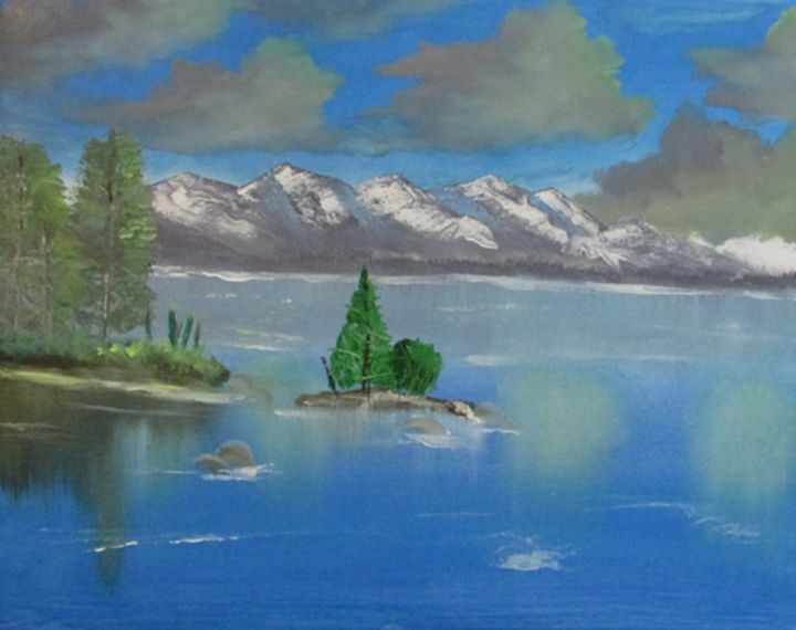 TREE ISLAND - MEL PAINT STUDIO