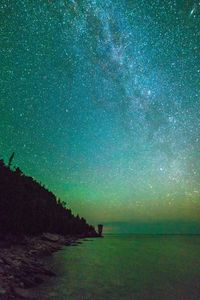 Milky way at Flowerpot Island