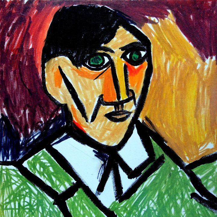Self-portrait of Pablo Picasso - Buddha's Art Shop