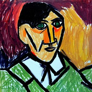 Self-portrait of Pablo Picasso