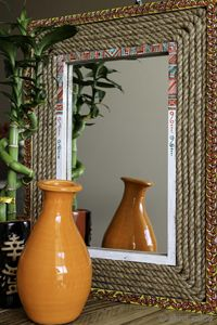 Handmade Wooden Mirror Frame