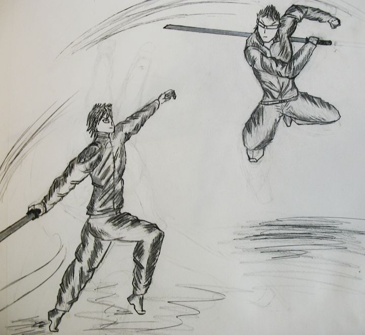 Takeo Vs. Swordsman - Tony Friedman