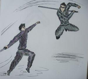 Takeo v. swordsman