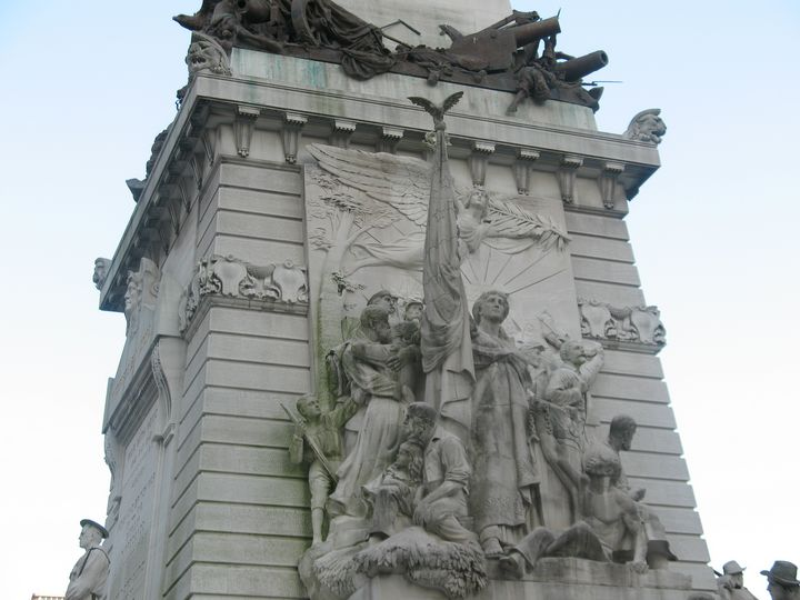 Peace, Soldiers & Sailors Monument - Nina La Marca, Artist's Photography