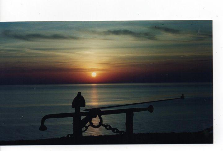 Sunset Shadow over Lake Huron - Nina La Marca, Artist's Photography on Artpal
