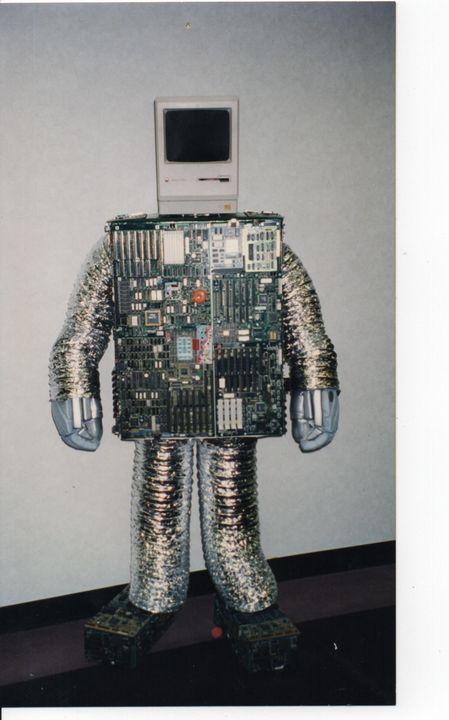 The Human Computer - Nina La Marca Artistic Photography