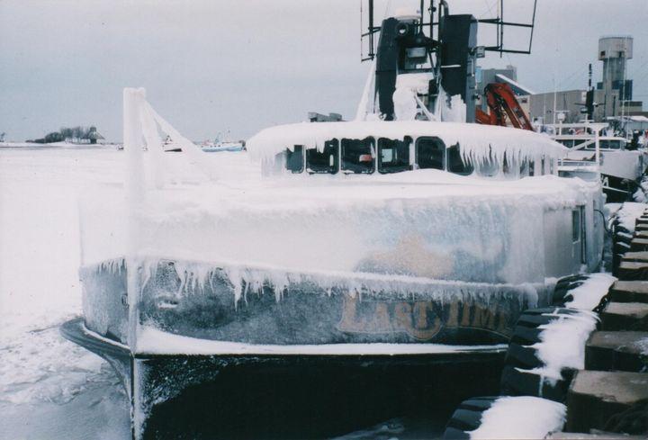 Last Time Frozen in Lake Huron - Nina La Marca Artistic Photography