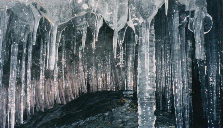 Icicle Cave - Nina La Marca, Artist's Photography