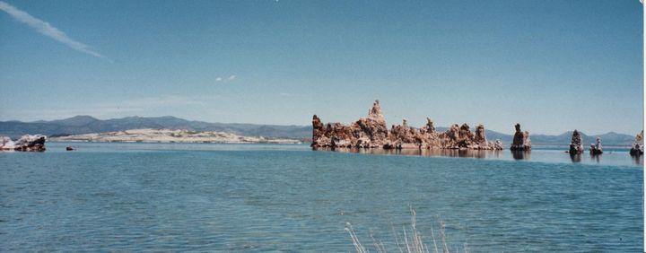 Mono Lake, its Island and Tufas - Nina La Marca Artistic Photography