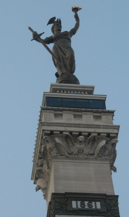 Lady Victory, American War Monument - Nina La Marca Artistic Photography