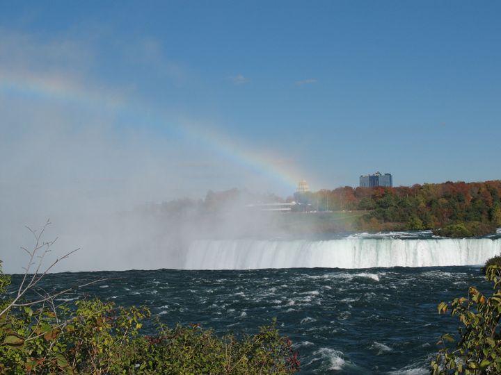 Rainbow atop Horseshoe Falls - Nina La Marca, Artist's Photography on Artpal