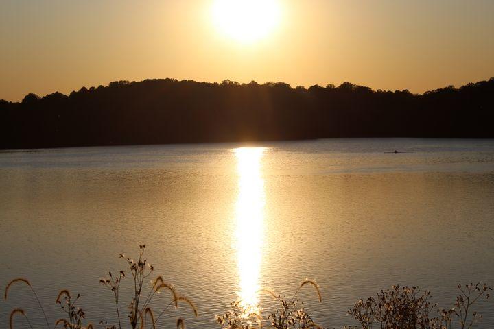 Eagle Creek Sunset - Nina La Marca, Artist's Photography