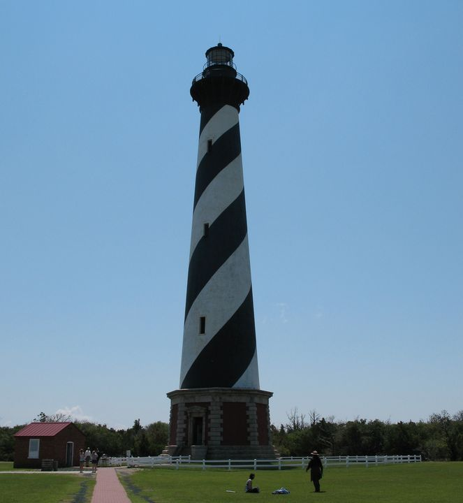 Hatteras Island Lighthouse - Nina La Marca, Artist's Photography