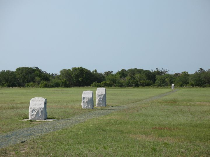First Flight Stone Markers - Nina La Marca Artistic Photography