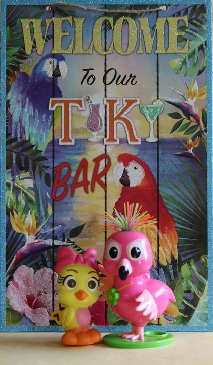 Welcome to our Tiki Bar! - Nina La Marca, Artist's Photography on Artpal
