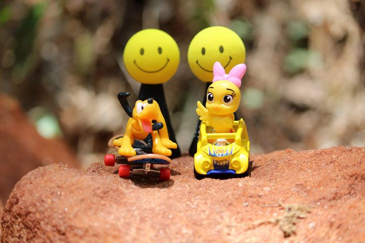 Disney Fun on the Rocks - Nina La Marca, Artist's Photography on Artpal