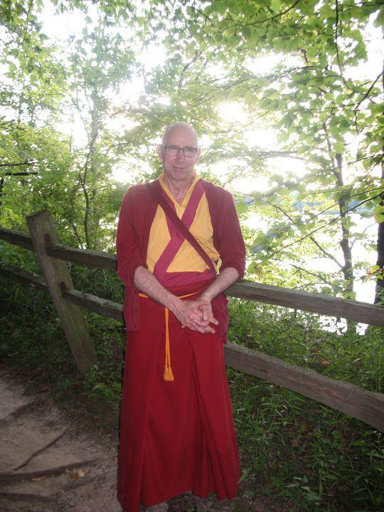 Buddhist Monk Darje - Nina La Marca Artistic Photography