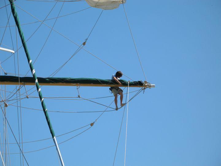 Prepping Sails 2 - Nina La Marca, Artist's Photography on Artpal