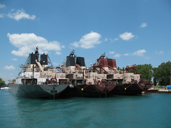 Great Lakes Freighters Docked - Nina La Marca, Artist's Photography on Artpal