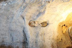 100 Year Old Graffiti on Cavern Wall
