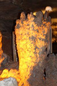 Iron Oxide Lava Effect - Nina La Marca Artistic Photography