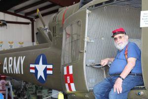 Vietnam Huey Chopper Pilot W Burnett