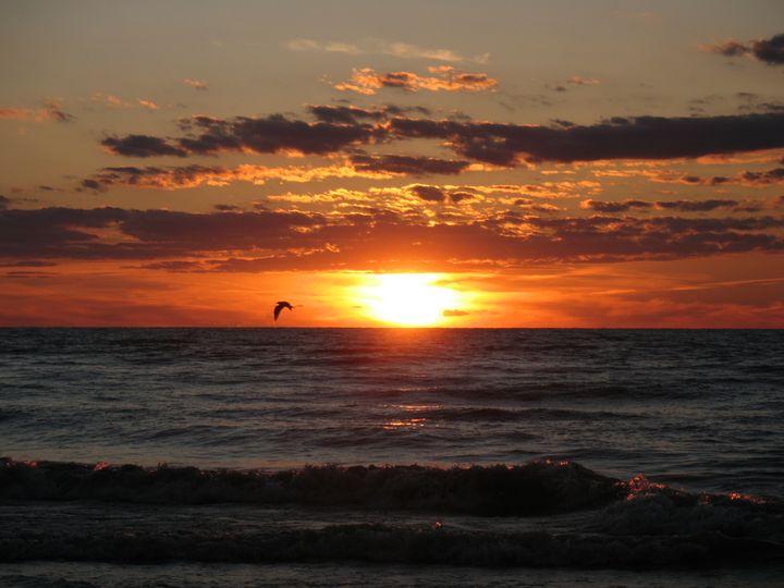 Lake Huron Sunset - Nina La Marca, Artist's Photography