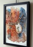 Original and signed watercolour
