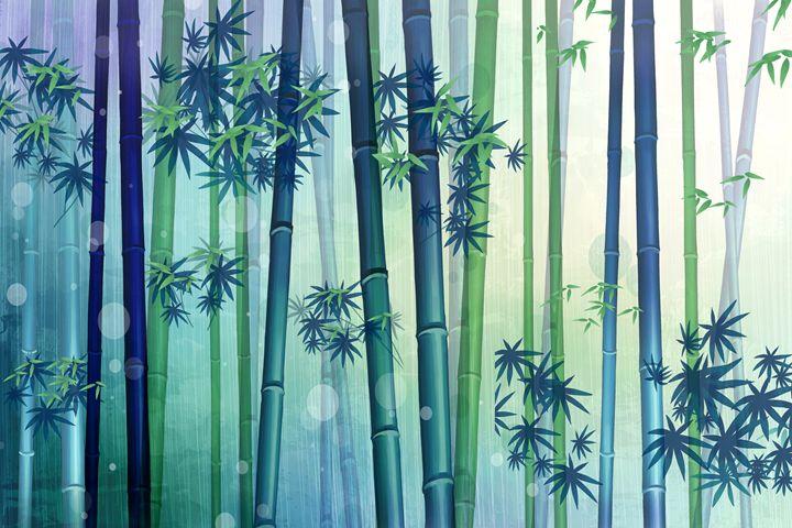 Bamboo Trees - wwyeeart