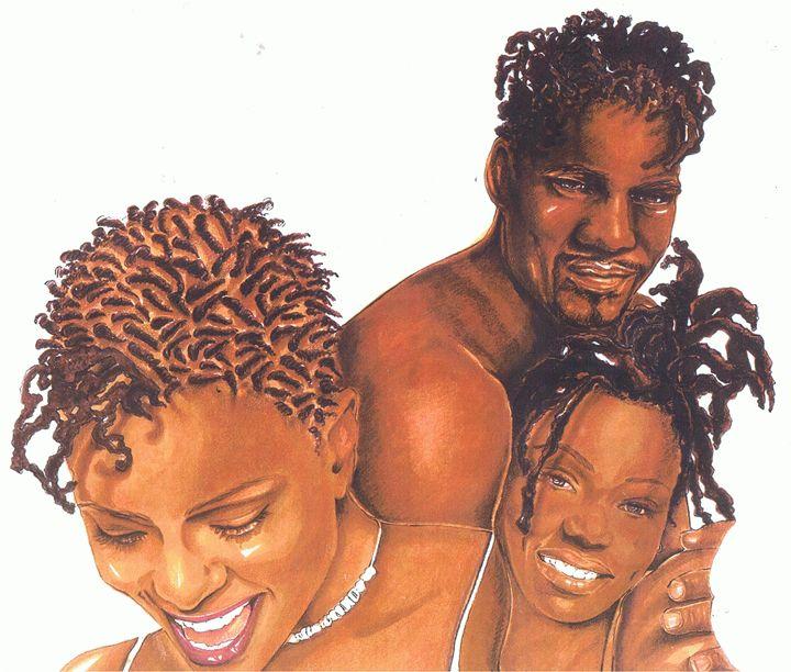 Black Family - Julienne Johnstone B.F.A.