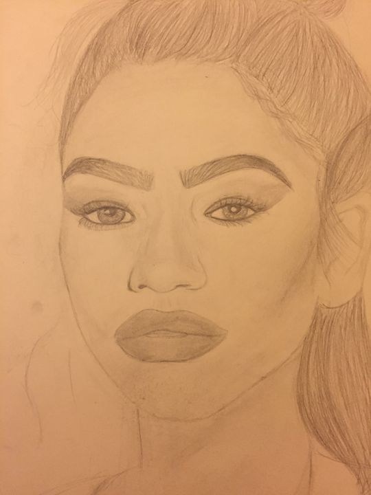 Zendaya Portait - The Bianca Experience
