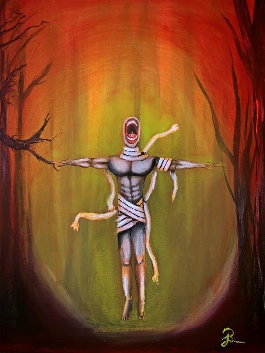 Gorgon in the Woods - Ars Tenebris