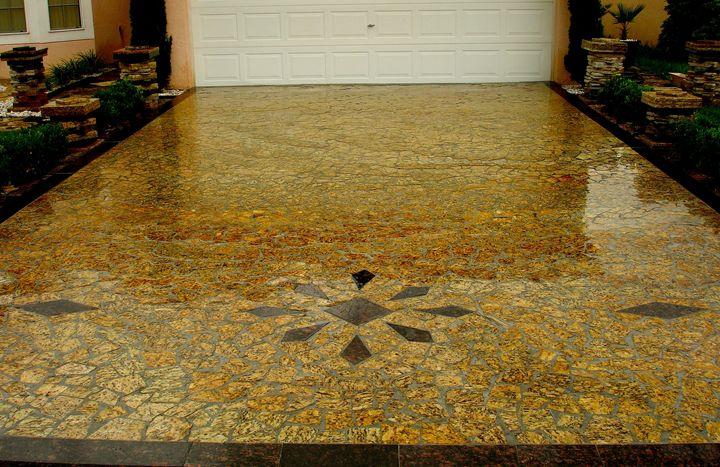 Granite Mosaic Driveway - Vit&Diesel