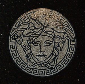 Medusa Gorgon Head Medallion