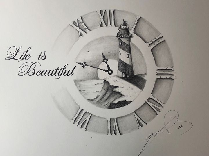Life is beautiful - Ingenious Artwork